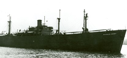 SS <em>Patrick Henry</em>, the first of thousands of Liberty ships launched during World War II.